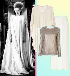 9 Easiest & Most Stylish Halloween Costumes - Bride of Frankenstein | Gallery | Glo