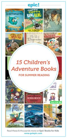 Adventure awaits, sign up to access these books and discover even more great books this summer with our 2016 Summer Reading Lists!
