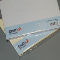 Craft UK UK Envelopes Ivory C5