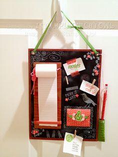 October 2013 Paper Pumpkin Kit - Message Board