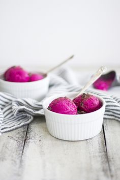 Honey and Beet Frozen Yogurt: My Diary of Us