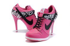 Nike Dunk High Heels Womens Dead End Pink