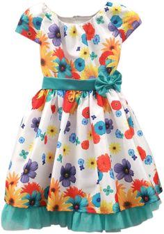 Dorissa by Sugar Plum Hailey Colors & Flowers Dress