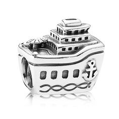 """Pandora All Aboard Yacht Charm -   Pandora """"All Aboard"""" Yacht Sterling Silver Charm. Great to commemorate a cruise!"""
