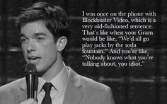 I think John Mulaney is quite possibly my favorite comedian.