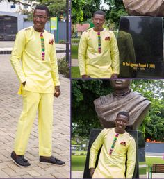 Mens African Wear African Clothing Kente Clothing by NayaasDesigns