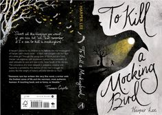Cover design for To Kill A Mockingbird, awarded place at the Penguin Design Awards Best Book Covers, Beautiful Book Covers, Book Cover Art, Book Cover Design, Buch Design, Portfolio Book, Cool Books, Book Jacket, Children's Book Illustration