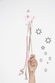 how to make a magic fairy wand