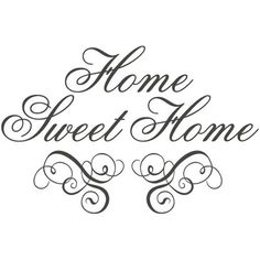 Home sweet home Silhouette Projects, Silhouette Design, Silhouette Cameo, Etiquette Vintage, Sweet Home, Foto Transfer, Card Sentiments, Vinyl Projects, Circuit Projects