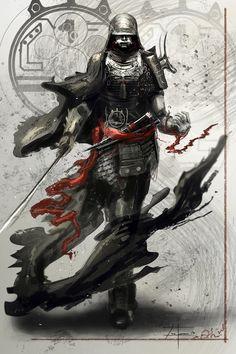 Samurai Leader (2-27-13) by zakforeman on deviantART
