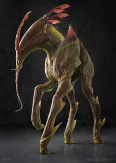 Marcel van Vuuren Design -- This could be a creature from the fictional world Pandora...