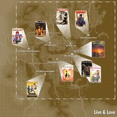 Live and Love locations Fallout 4 Secrets, Fallout Tips, Fallout Facts, Fallout Fan Art, Fallout Perks, Fallout Four, Fallout Game, Fallout New Vegas, Fallout 4 Funny