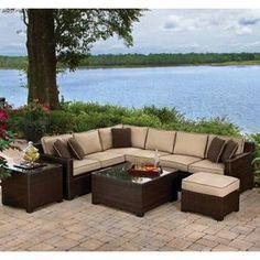 Nebraska Furniture Mart – Agio Carmel 5 Piece Sectional Seating