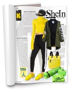 """#shein"" by katymill ❤ liked on Polyvore featuring Fendi, Jacquemus, Orla Kiely and Moschino"