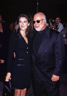 Rene Angelil Celine Dion Photos - Fashion and Beauty Awards in New York, NY.Pic shows: Celine Dion & husband Rene Angelil.September - Fashion and Beauty Awards Rene Charles Angelil, Celine Dion Husband, Notre Dame Basilica, Beauty Awards, Looking For Love, Older Men, Celebs, Celebrities, Man Photo