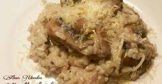 Fabulosa receta para Risotto de champiñones, con queso Idiazábal.