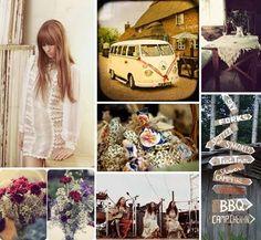 Hippy wedding- Its cute Wedding Trends, Boho Wedding, Dream Wedding, Hippie Weddings, Wedding Ideas, Wedding Stuff, Wedding Weekend, Wedding Fun, Perfect Wedding