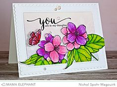 mama elephant   design blog: STAMP HIGHLIGHTS : BUTTERFLY KISSES