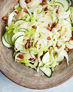 Shaved Fennel, Zucchini, and Celery Salad Recipe   Martha Stewart