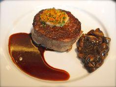 Aberdeen Angus fillet steak with mushroom ketchup, at Dinner by Heston Blumenthal