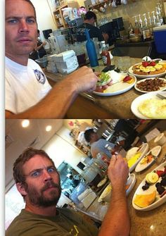 Paul walker- this is so interesting. Well he enjoy it at any place he want to.