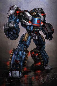 Transformers - War for Cybertron - Scattorshot concept