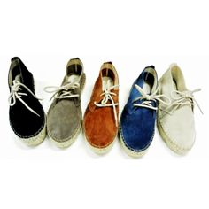 Casa Hernanz Suede Lace-up Flatform Espadrilles | Spanish Fashion - SPANISH SHOP ONLINE | Spain @ your fingertips