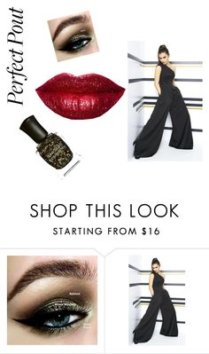 """glitter lipstick"" by tlduncan79 ❤ liked on Polyvore featuring beauty, Kat Von D, Mac Duggal and Deborah Lippmann"