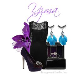"""Yzma"" by disney-villains on Polyvore; earrings and shoes"