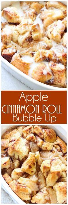 Apple Cinnamon Roll Bubble Up
