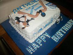 Hockey Cake#Hockey #cake #ahockeymomreviews