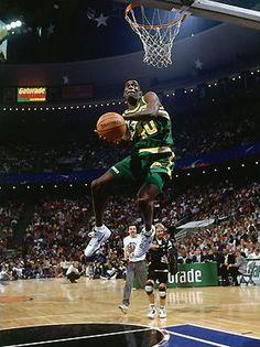 Shawn Kemp - NBA Dunk Contest 1992
