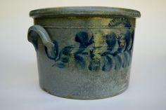 Antique Pottery Crocks ❤