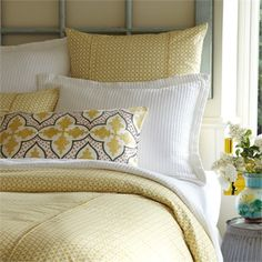Rosenberry Rooms is offering a 10% discount on your purchase of $350 or more.  Share the news and take advantage of the savings! Dijon Charleston Duvet Cover #rosenberryrooms