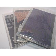 10er-Pack Klarsichthüllen Stanzschablonen für