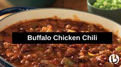Mix up a batch of this buffalo chicken chili for all your football viewing party needs or if you just want a healthy, easy meal for a crisp fall evening! Buffalo Chicken Chili, White Bean Chicken Chili, Canning Crushed Tomatoes, Clean Eating Chicken, Canned Tomato Sauce, Ground Chicken, White Beans, Savoury Dishes, Jalapeno Chili