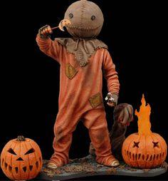 Trick 'r Treat Sam figure by NECA Toys. So creepy, so adorable! Modern Halloween, Halloween Movies, Halloween Horror, Halloween Town, Halloween Cosplay, Happy Halloween, Halloween Costumes, Trick Or Treat Movie, Trick Or Treat Sam