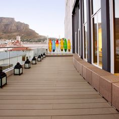 Maximize your visit to Cape Town with a refreshing stay at the Protea Hotel Fire & Ice Cape Town, a premier luxury hotel located in Tamboerskloof. Fire And Ice, Modern Room, Cape Town, South Africa, Deck, Relax, Stairs, African, Travel