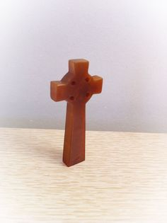 Vintage Bakelite Celtic Cross by ArtDecoDame on Etsy