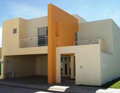 fachada casas colores casa fachadas exterior pintar como pintura naranja frentes tonos combinacion dicas exteriores estilo blanco moda imagens mi