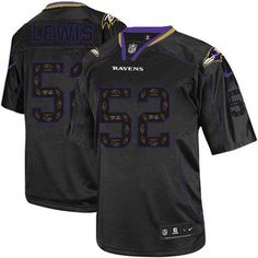Cardinals Carson Palmer 3 jersey Nike Ravens  52 Ray Lewis New Lights Out  Black Men s 649647112