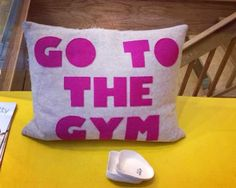 Where to Get Mindy Kaling's 'Go to the Gym'  Pillow