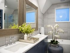 Pictures of the HGTV Smart Home 2015 Master Bathroom | HGTV