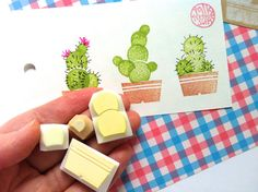 Cactus stamp by Talk to the Sun