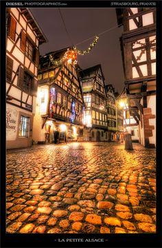 La Petite Alsace, Christmas in Strasbourg, France