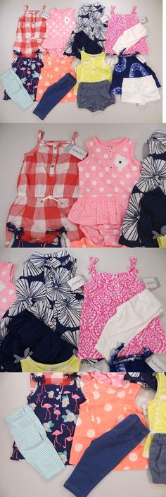 Mixed Items and Lots 147220: Best 8 Carter S Outfits Brand New Lot! Size: 6 Months Spring Summer -> BUY IT NOW ONLY: $39.95 on eBay!