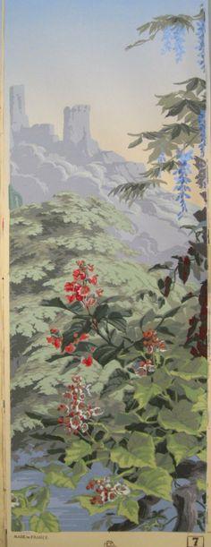 original Zuber wallpaper panel - MJP Studios