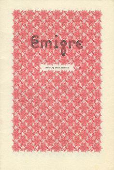 Emigre catalog Emigre Magazine, Editorial, Magazine Design, Magazine Covers, Book Design, Catalog, Typography, Design Inspiration, Posters