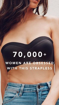 Bend it, roll it, and get ready to live in it. This revolutionary strapless bra is making the impossible oh so possible. Cool Outfits, Casual Outfits, Bra Tops, Swagg, Shapewear, What To Wear, Style Me, Winter Fashion, Fashion Dresses