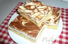 Picture of Recept - Řezy karamelka Russian Recipes, 20 Min, Good Mood, Tiramisu, Pie, Cheesecake, Ethnic Recipes, Sweet, Food